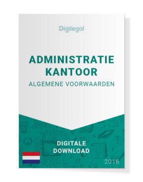 Algemene Voorwaarden Administratiekantoor (Nederlands)