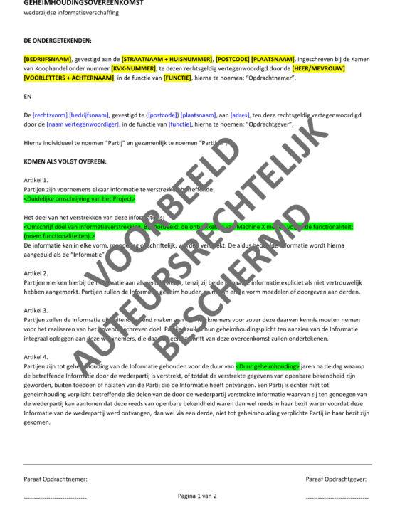201610-contract-wederzijdse-geheimhoudingsverklaring-voorbeeld-1