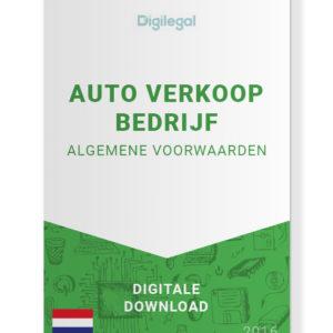 Algemene Voorwaarden Auto Verkoop Bedrijf (Nederlands)