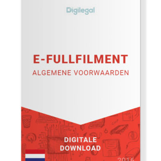 Algemene Voorwaarden E-Fullfilment (Nederlands)